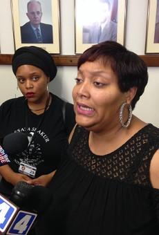 Carmen Steward begs for information in a quadruple homicide in St. Louis County.