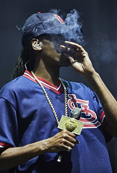 See more photos from Snoop's set in our slideshow of LouFest 2017's day one.