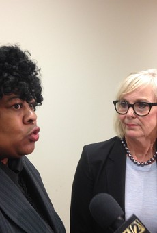 The Rev. Cassandra Gould and Rep. Stacey Newman are calling for an investigation into mass arrests at the Galleria.