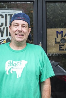 "Chris ""Mac"" McKenzie of Mac's Local Eats and Mac's Local Buys."