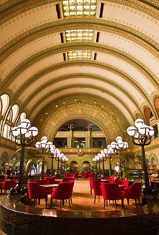 The Union Station hotel lobby is a stunner.