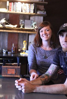 Pig & Pickle's general manager Carina Flesch and chef/owner Ryan Lewis