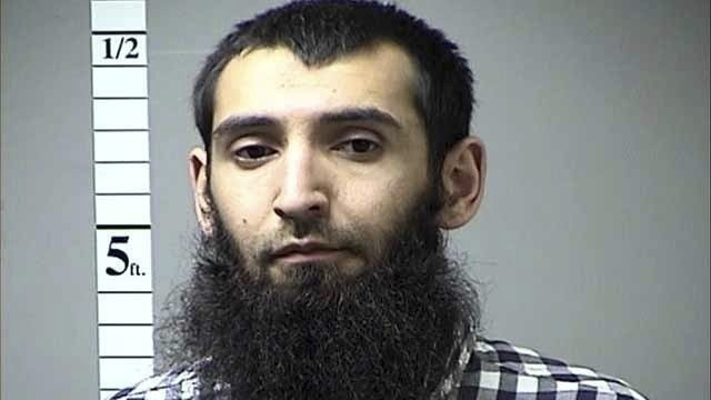 Sayfullo Saipov was arrested in Missouri last year. - IMAGE VIA ST. CHARLES COUNTY