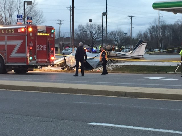 Plane Crashes Into Chesterfield BP Station, Killing Pilot | News Blog