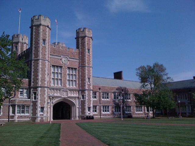 Washington University's campus. - COURTESY OF FLICKR/GRABADONUT