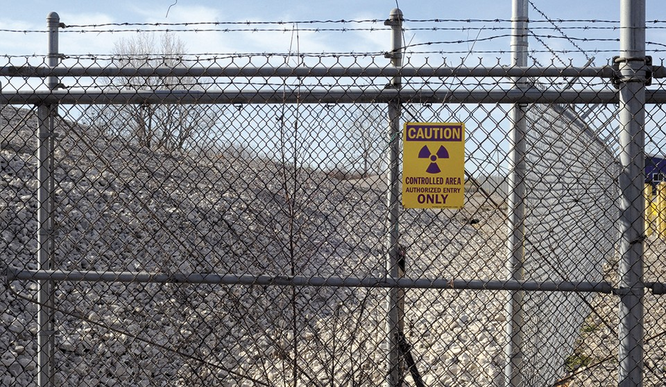 The toxic waste was never supposed to be stored at West Lake Landfill. - KELLY GLUECK