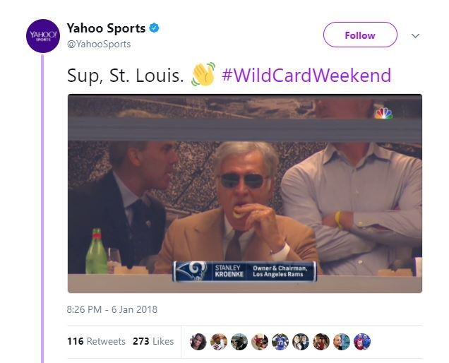 Seriously, Yahoo, what did we ever do to you? - SCREENSHOT VIA TWITTER.
