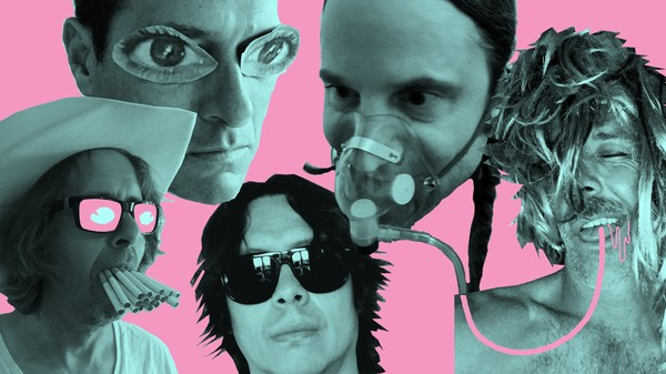 Hot Snakes will peform at Blueberry Hill's Duck Room on Wednesday, March 14. - PHOTO BY RICK FROBERG
