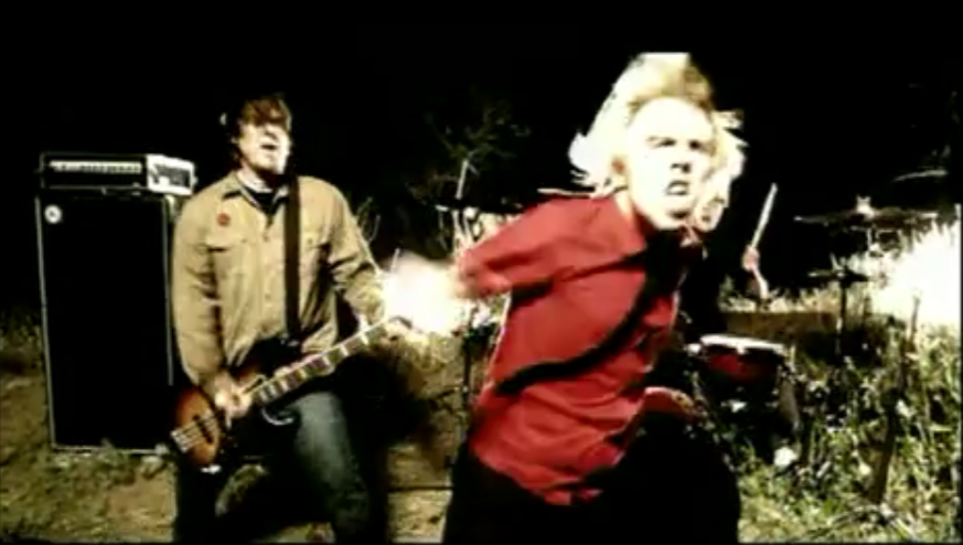 "Michael Davenport is on the left in this screenshot from the video for the Ataris' cover of ""Boys of Summer."" - SCREENSHOT FROM THE VIDEO BELOW"