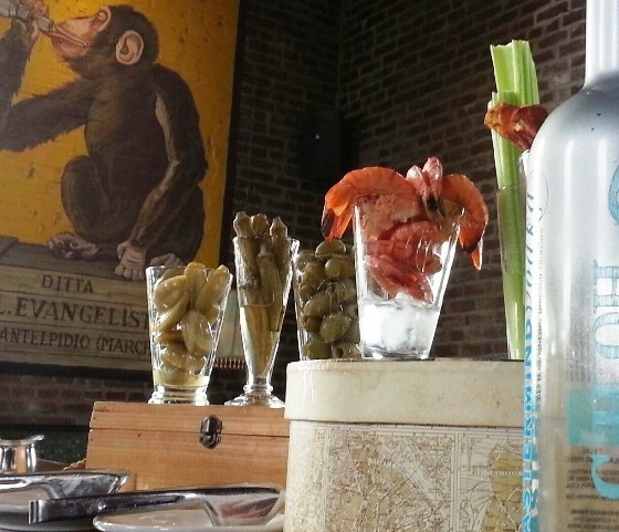 Vin de Set's bloody mary bar is legendary. - WENDY HAMILTON