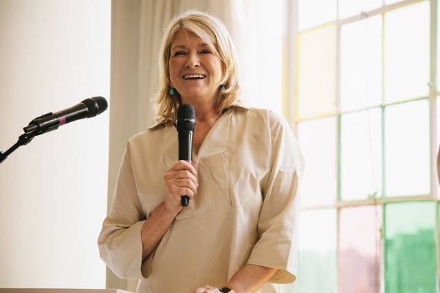 Martha Stewart speaking at an event in 2012. - PHOTO COURTESY OF FLICKR/ALT SUMMIT
