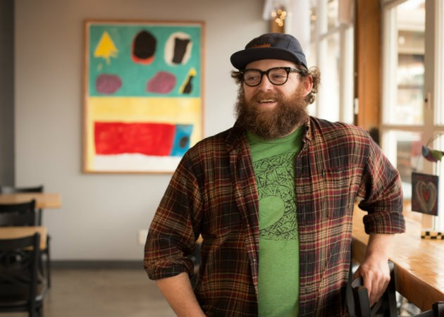 Nate Larson is figuring it all out at Living Room. - MONICA MILEUR