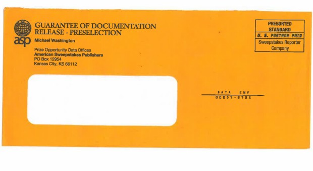 Missouri direct-mail companies used official-looking documents to scam people, authorities say. - U.S. DISTRICT COURT FILE