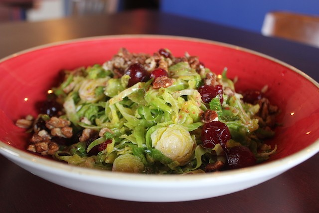 Brussels salad at Brick River Cider Co. - SARAH FENSKE