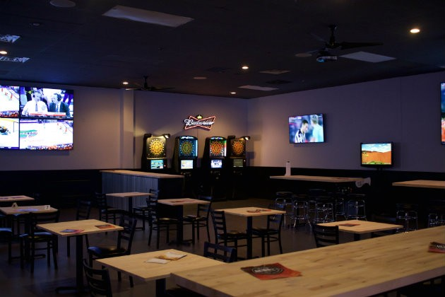 Nubby's has two massive dining rooms filled with televisions and bar games like darts. - CHERYL BAEHR