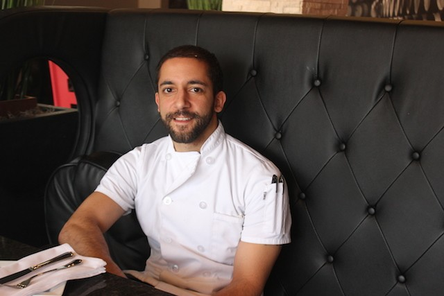 Chef Kyle Parks. - SARAH FENSKE