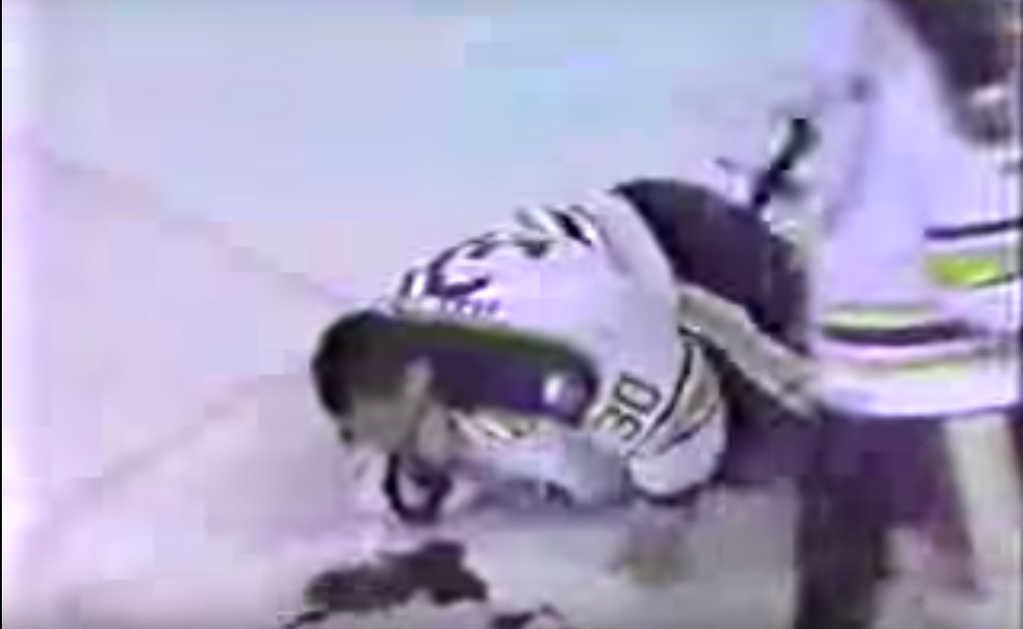 Clint Malarchuk Survived Hockey S Most Gruesome Accident Against The