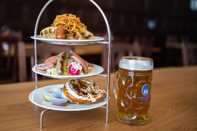 German classics comprise the menu. - SPENCER PERNIKOFF