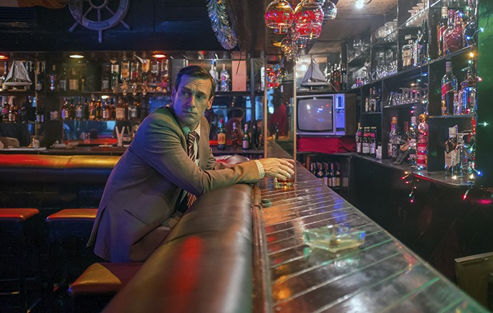 Hamm stars as hard-drinking agent on a mission. - SIFE EDDINE EL AMINE/BLEECKER STREET