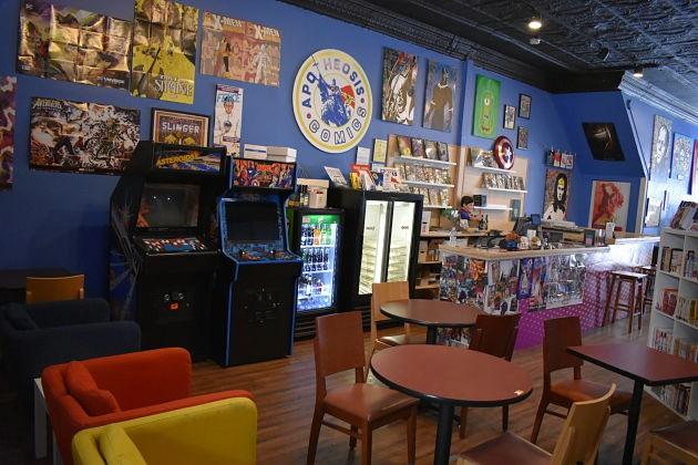 Apotheosis Comics Just Opened Its Bar and Lounge | Arts Blog