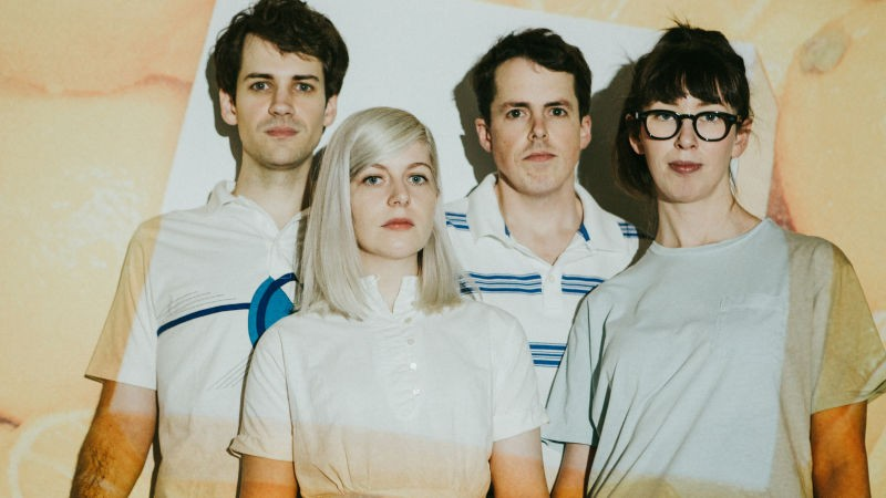 Alvvays' latest tour brings a stop in St. Louis for the first time. - ARDEN WRAY