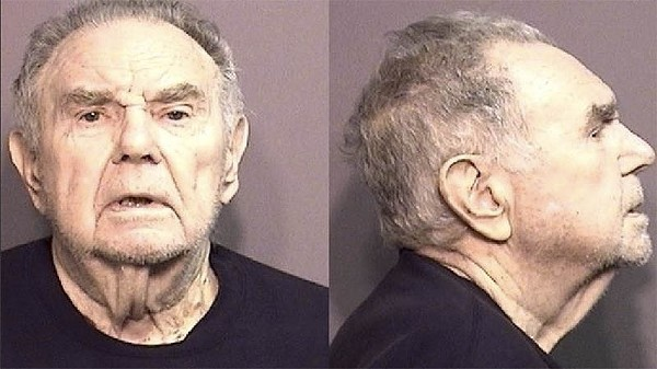 Donald Rowland shown in his mug shot.