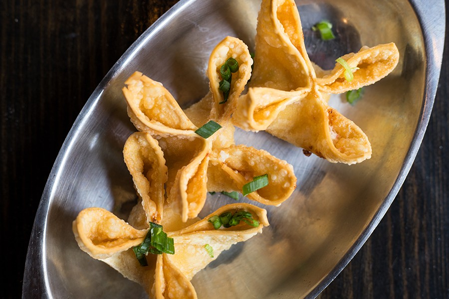 The crab Rangoon recipe comes from the Shihs' parents' restaurant. - MABEL SUEN