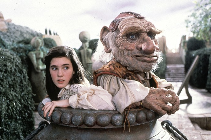 A young Jennifer Connelly gets lost in Labyrinth. - (C) THE JIM HENSON COMPANY INC.