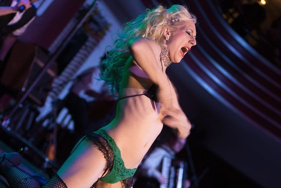 The Show Me Burlesque Festival takes place across three nights and two venues this weekend. - CRYSTAL ROLFE