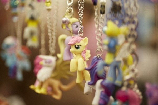 The vendor room will be a treasure house of My Little Pony memorabilia. - THEO WELLING