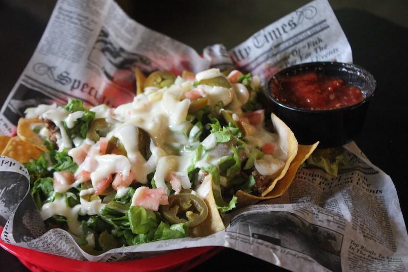 Nachos are not St. Louis-themed, but still tasty. - SARAH FENSKE