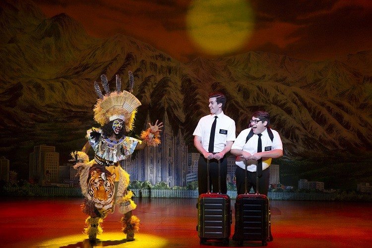 "The Book of Mormon is back to shock and ""awww"" you. - (C) JULIETA CERVANTES 2017"