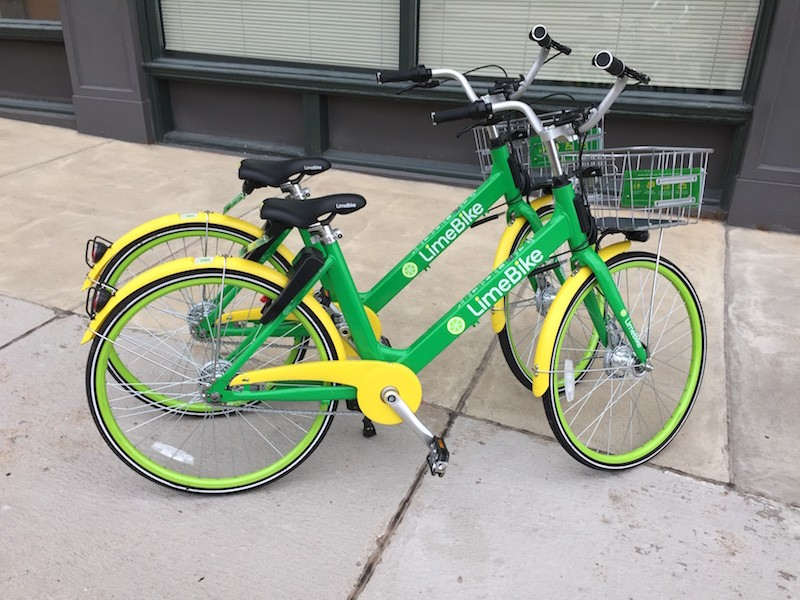 LimeBikes are everywhere .... and quite affordable for those in certain income brackets. - JAIME LEES