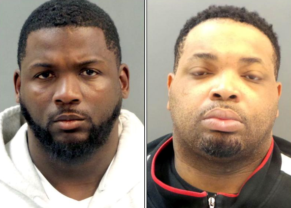 Lamonte Brown, left, and Jason Holmes. - VIA ST. LOUIS POLICE