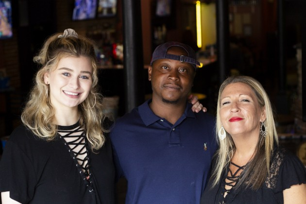 """The Trio"": Co-owners Tory Knight, Latrell  Tompkin and Paula Zingrich - HAYLEY ABSHEAR"