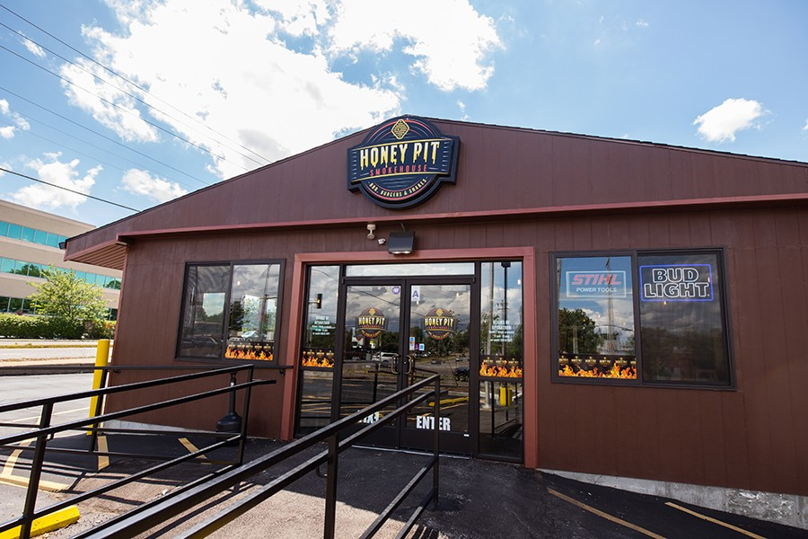 Honey Pit sits at a busy corner in Kirkwood. - MABEL SUEN