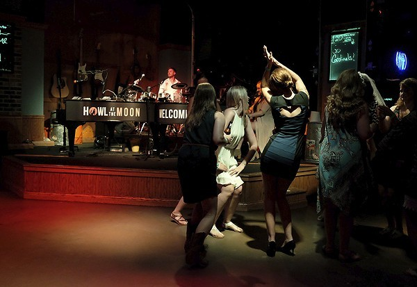 Howl at the Moon has been a popular spot for bachelorette parties. - HOLLY RAVAZZOLO