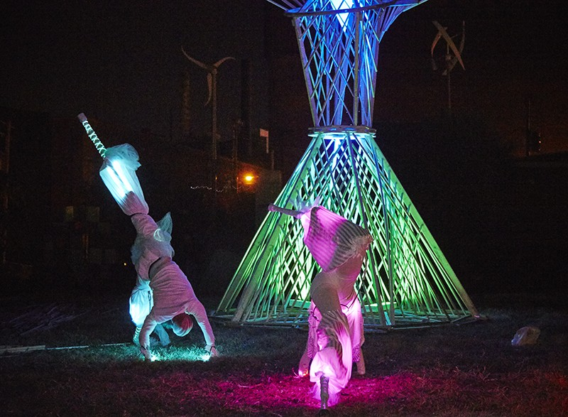The POW! Project performs at the 2015 Artica festival. - STEVE TRUESDELL