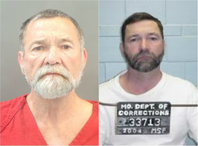 Walter Kemp, shown in 2018 and 2004, has spent most of his life in prison. - ST. LOUIS JUSTICE CENTER/MISSOURI DEPARTMENT OF CORRECTIONS