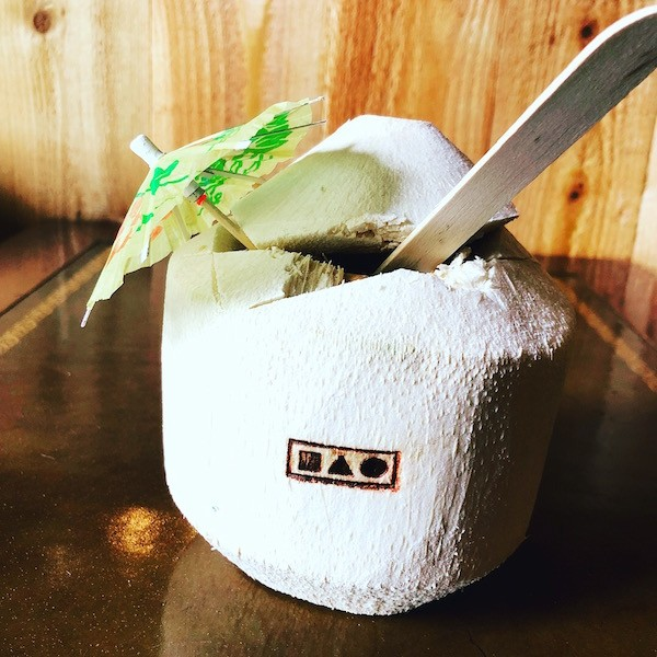 """The Bao's """"Bikini Etymology"""" is just one of the wildly creative cocktails on the Clayton eatery's menu. - COURTESY OF BENJAMIN BAUER"""