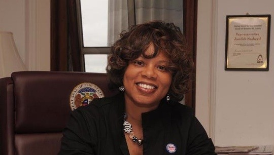 Senator Jamilah Nasheed (D-St. Louis) is criticizing a new social media policy at City Hall. - VIA VOTENASHEED.COM
