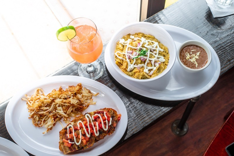 Thurman's morning food offerings will include the classic Mexican brunch staple chilaquiles. - WE EAT STUFF