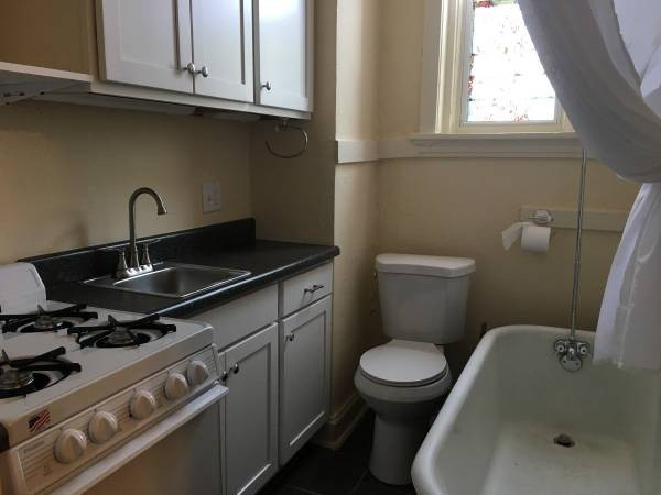 St Louis Apartment With Unique Layout Features Toilet Next To