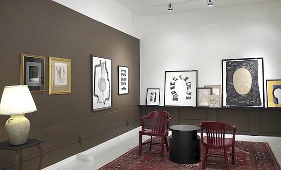 Leslie Laskey's Portraits at Bruno David Gallery