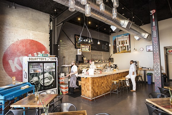 Squatter's Cafe opened in the KDHX building in November 2017. - MABEL SUEN
