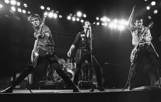 Bob Gruen has shot some of rock & roll's most iconic photos. Above: The Clash.