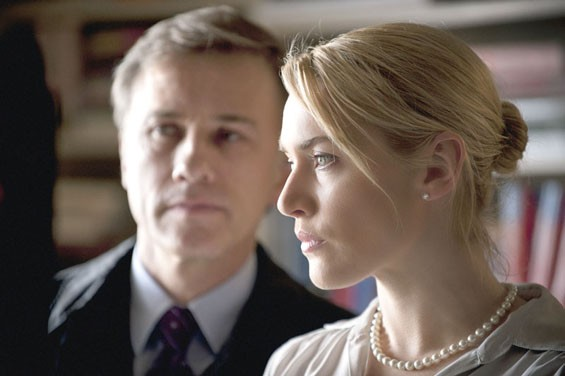 Christopher Waltz and Kate Winslet in  Carnage