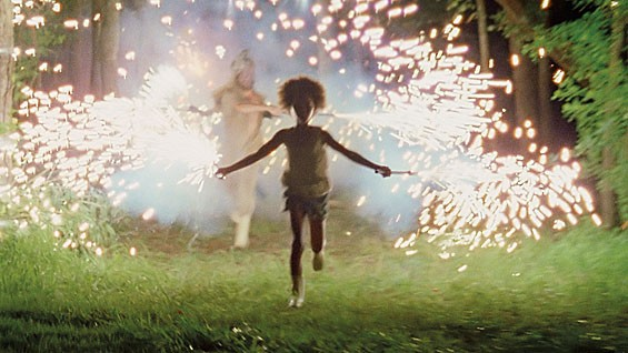 Quvenzhane Wallis in Grand Jury prize winner Beasts of the Southern Wild.
