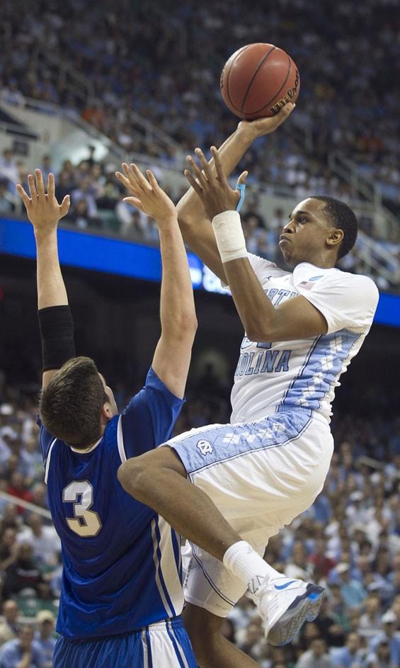 North Carolina's John Henson should give Ohio University all they can handle.