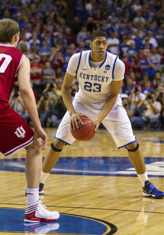Kentucky's Anthony Davis: Still the most talented player left in this tournament, and an almost surefire future NBA star.